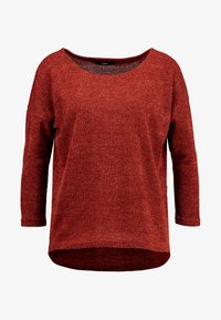 ONLY - ONLALBA SLEEVE - Jumper - picante - 4