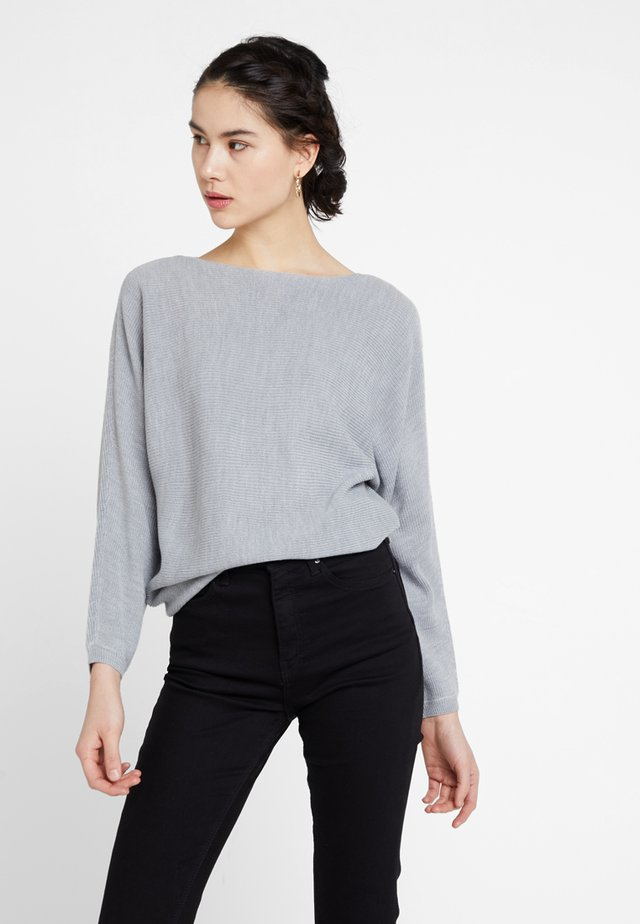ONLTILDA - Jersey de punto - light grey melange