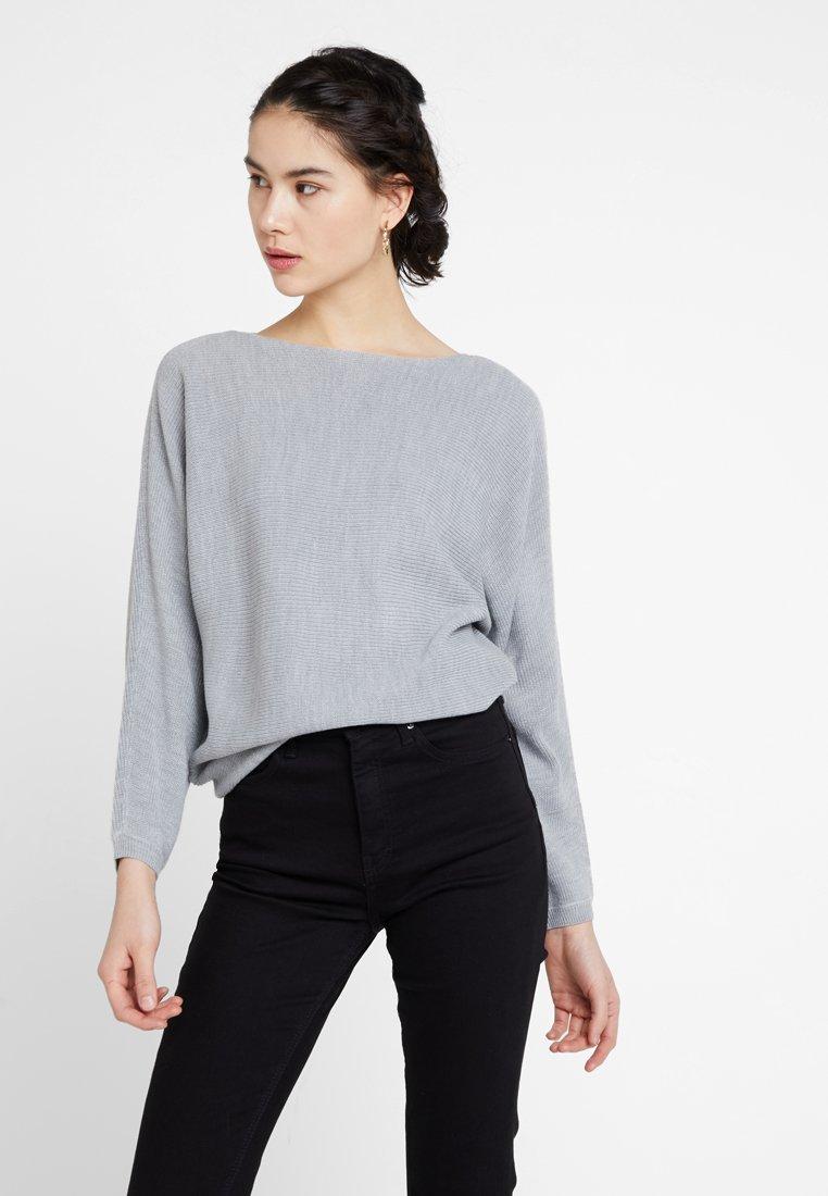 ONLY - ONLTILDA - Strickpullover - light grey melange