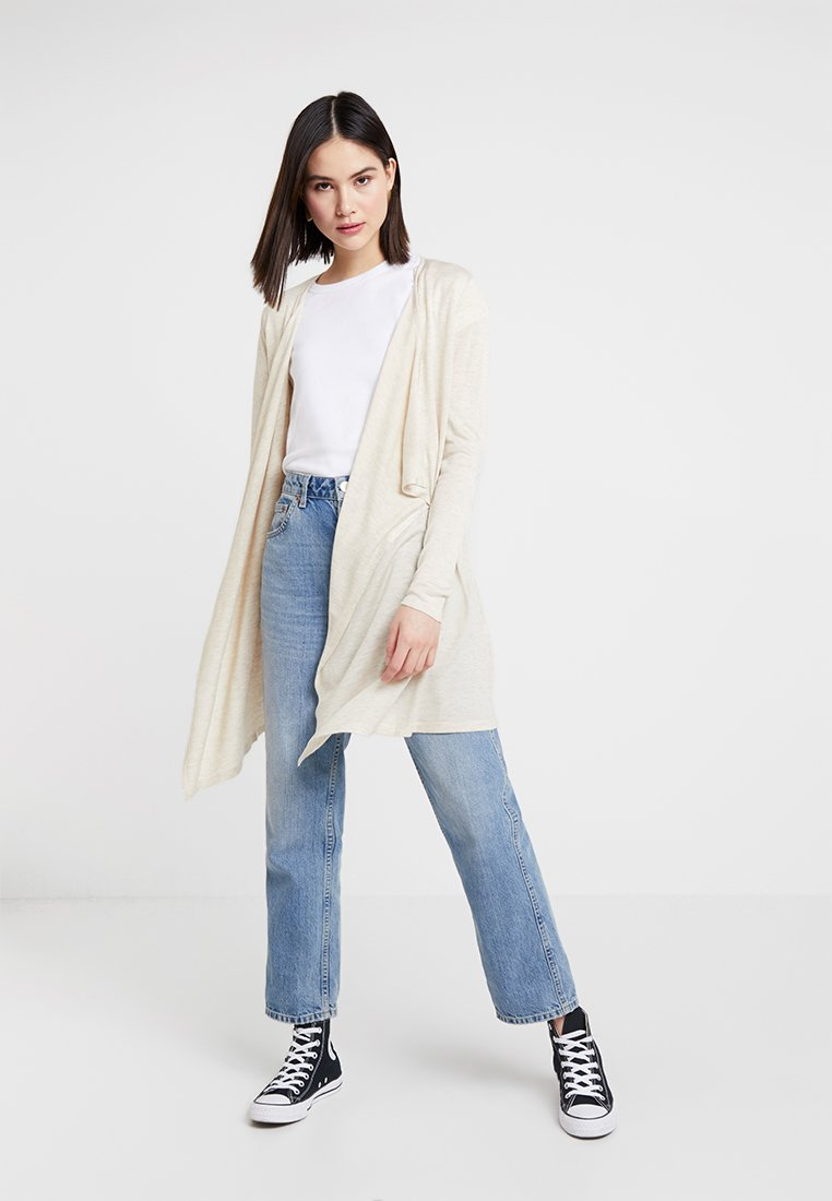 ONLY - ONLMARY CARDIGAN - Vest - pumice stone