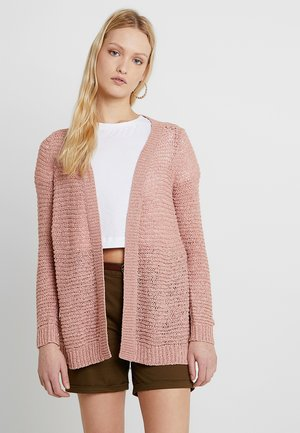 ONLELLI CARDIGAN - Vest - misty rose