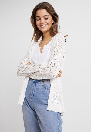 ONLKYLIE CARDIGAN - Gilet - cloud dancer