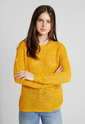 ONLELLI - Jumper - golden yellow