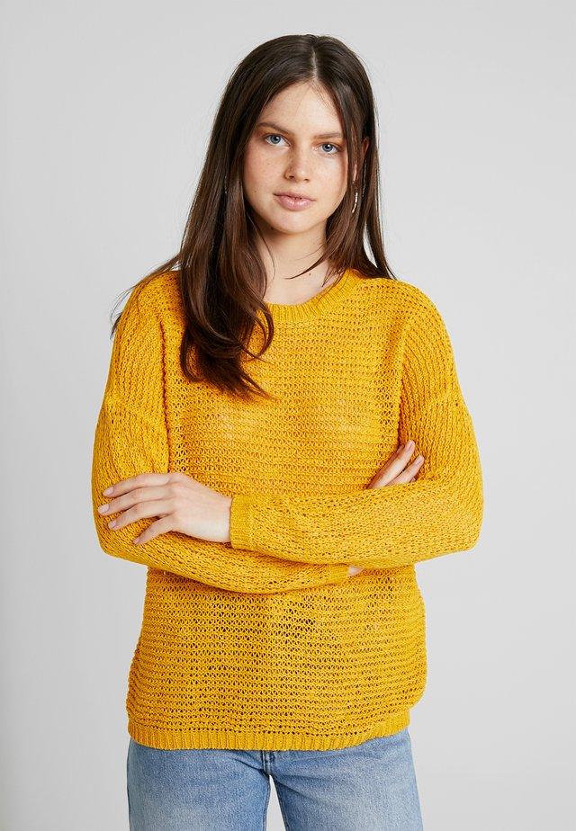 ONLELLI - Jersey de punto - golden yellow