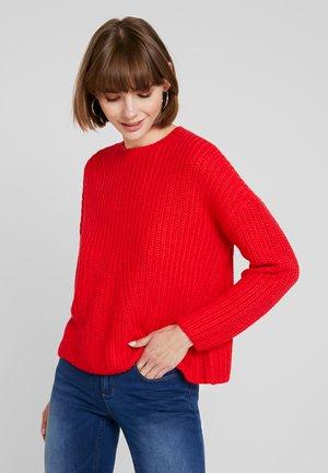 ONLNICOYA - Pullover - flame scarlet