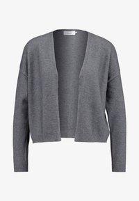 ONLY - ONLLEAH CARDIGAN - Cardigan - medium grey melange - 4