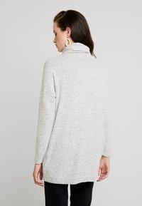 ONLY - ONLKLEO ROLLNECK - Pullover - light grey melange/ black melange - 2