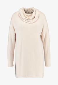 ONLY - ONLKLEO ROLLNECK - Pullover - rose dawn/white melange - 3