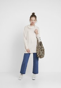ONLY - ONLKLEO ROLLNECK - Pullover - rose dawn/white melange - 1