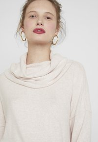 ONLY - ONLKLEO ROLLNECK - Pullover - rose dawn/white melange