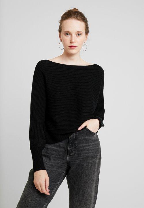 oferta ONLY ONLCATHLENE - Sweter - black Odzież Damska PCOA-EC3
