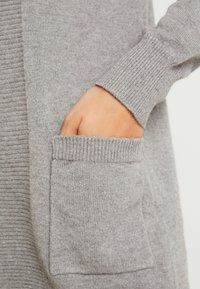 ONLY - ONLKAYSA CARDIGAN - Cardigan - medium grey melange - 5