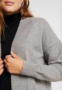 ONLY - ONLKAYSA CARDIGAN - Cardigan - medium grey melange - 3