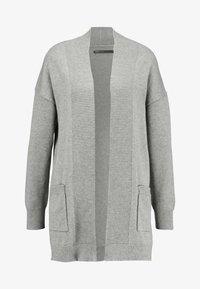 ONLY - ONLKAYSA CARDIGAN - Cardigan - medium grey melange - 4