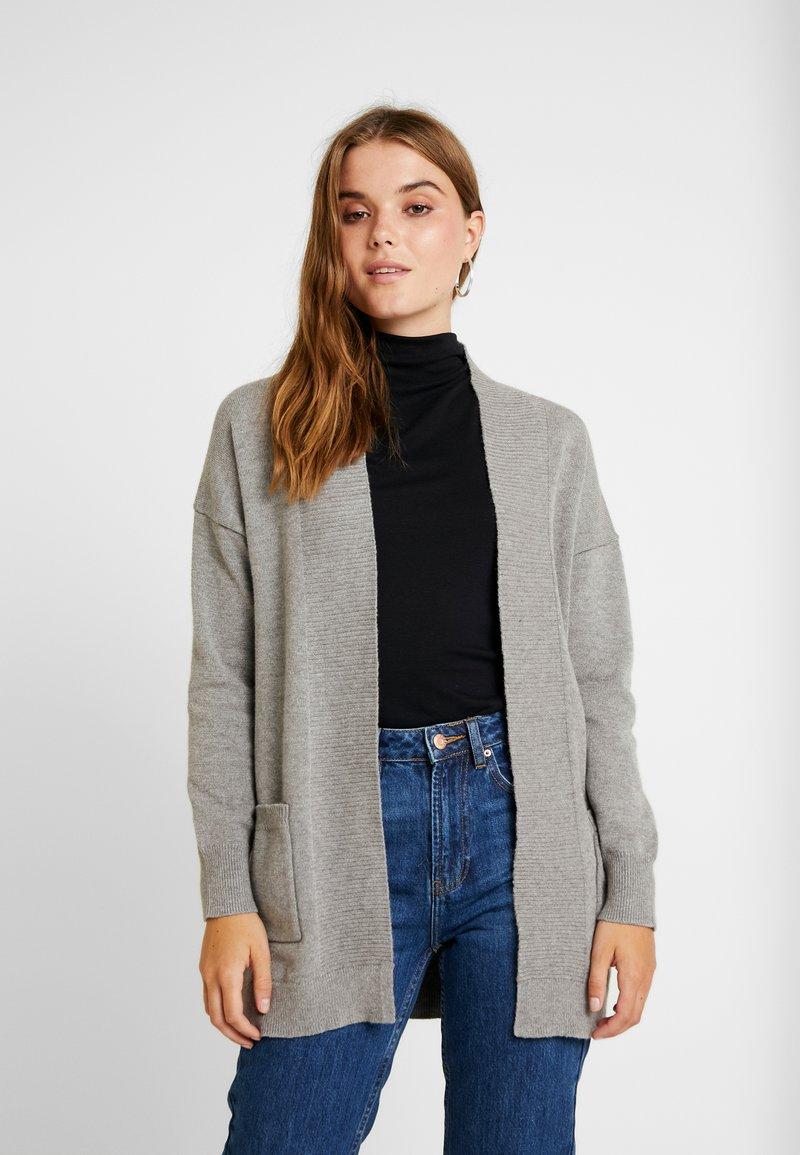 ONLY - ONLKAYSA CARDIGAN - Cardigan - medium grey melange