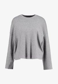 ONLY - ONLJESS CREW - Strikpullover /Striktrøjer - medium grey melange - 3
