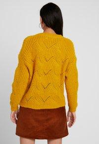 ONLY - ONLHAVANA - Svetr - golden yellow - 2
