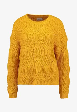 ONLHAVANA - Strikpullover /Striktrøjer - golden yellow