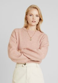 ONLY - ONLROSIE - Pullover - misty rose melange - 0