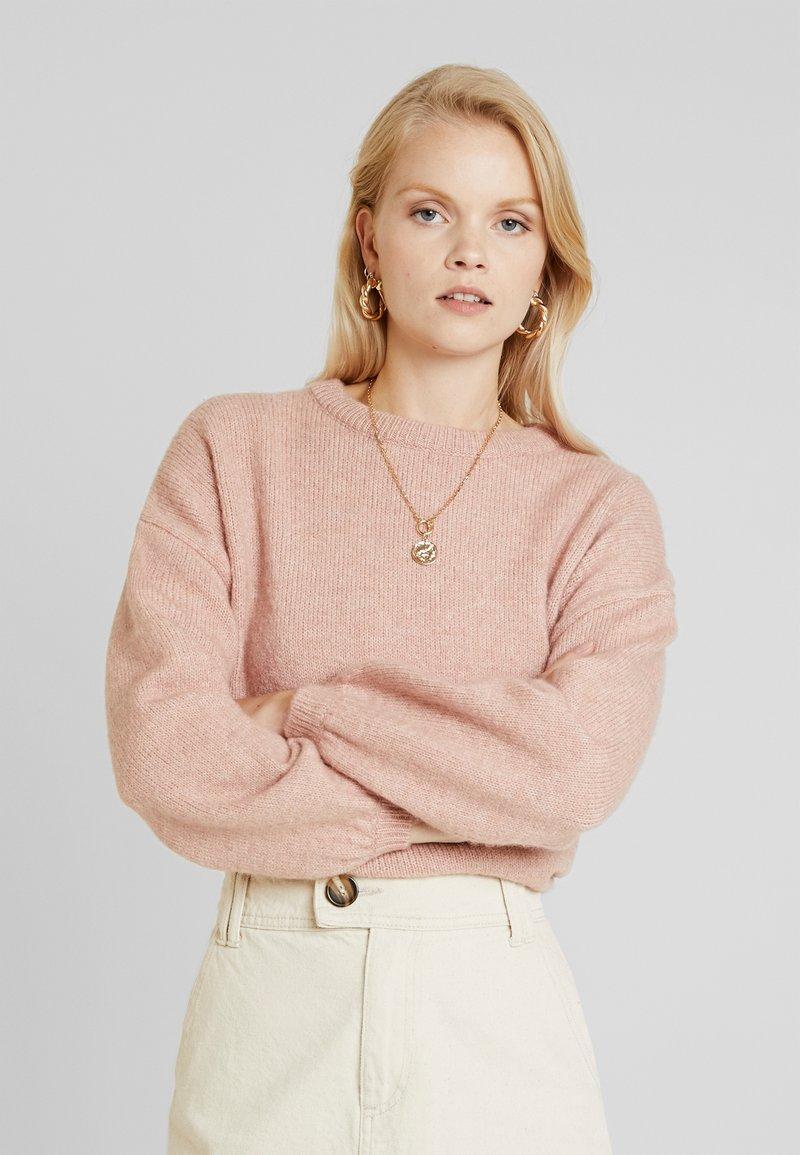 ONLY - ONLROSIE - Pullover - misty rose melange