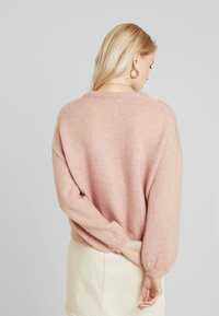 ONLY - ONLROSIE - Pullover - misty rose melange - 2