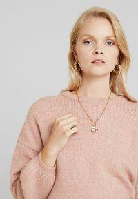 ONLY - ONLROSIE - Pullover - misty rose melange - 3