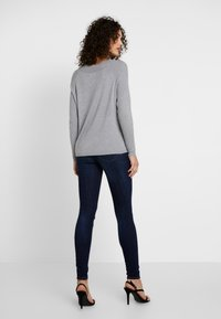 ONLY - ONLLACEY BOATNECK - Jumper - medium grey melange - 2