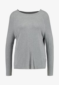ONLY - ONLLACEY BOATNECK - Jumper - medium grey melange - 3