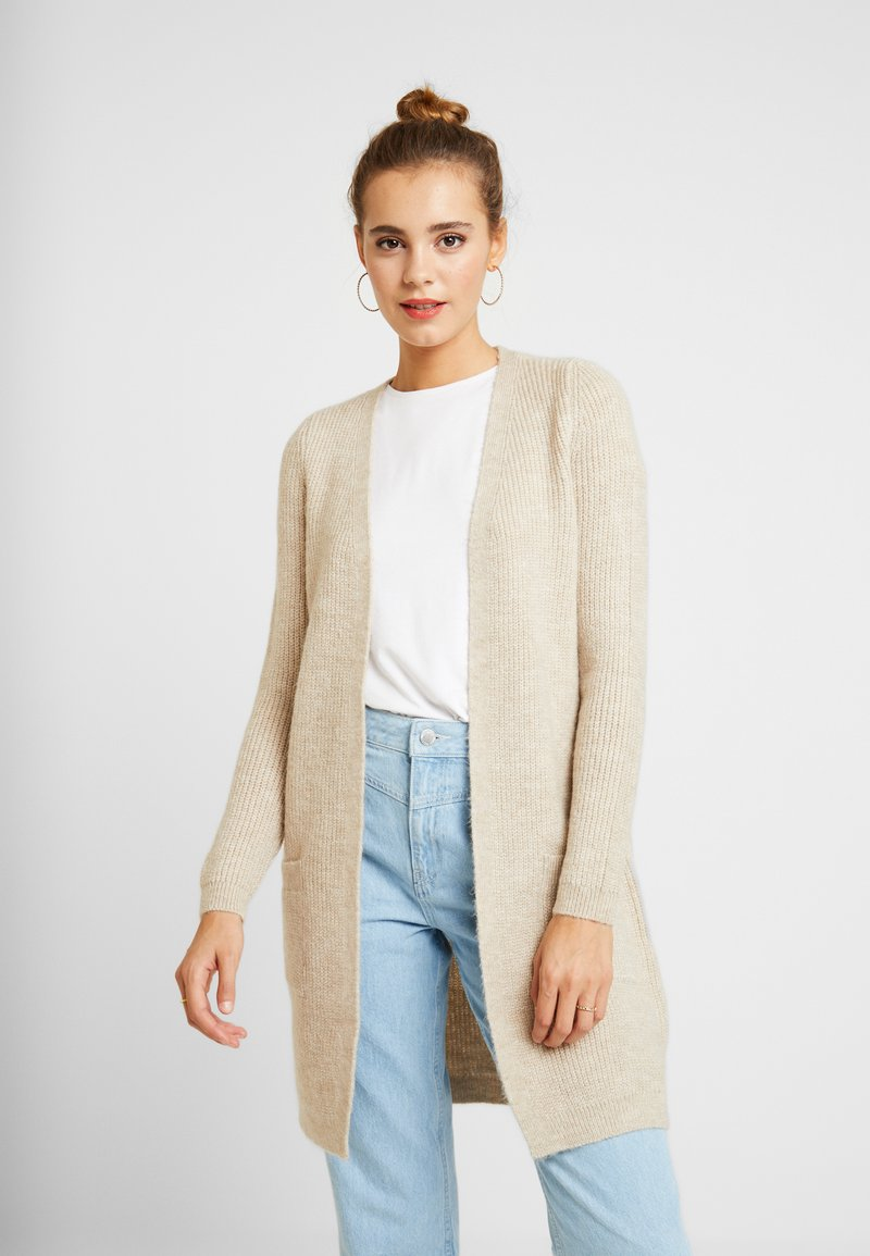 ONLY - ONLJADE CARDIGAN - Strickjacke - whitecap gray