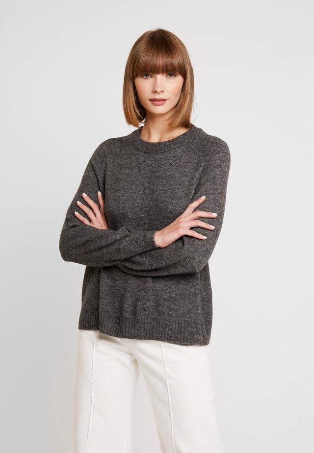 ONLMIRNA - Jersey de punto - dark grey melange