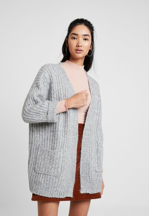 ONLCHUNKY CARDIGAN - Kardigan - light grey melange