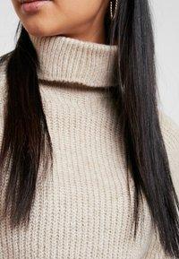 ONLY - ONLJADE ROLLNECK - Strickpullover - whitecap gray melange - 5