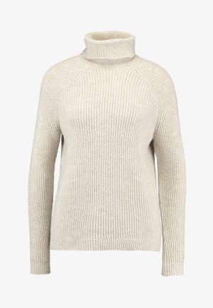 ONLJADE ROLLNECK - Trui - whitecap gray melange