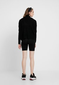 ONLY - ONLAVA HIGHNECK - Pullover - black - 2