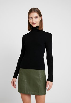 ONLIZA BUTTON ROLLNECK  - Jersey de punto - black