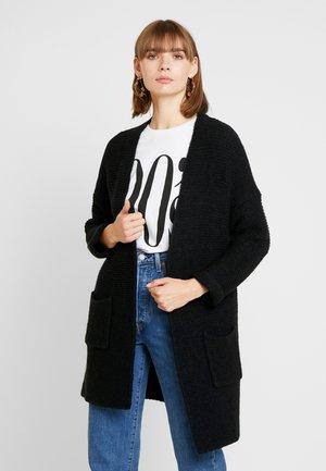 ONLTALIYA CARDIGAN - Vest - black