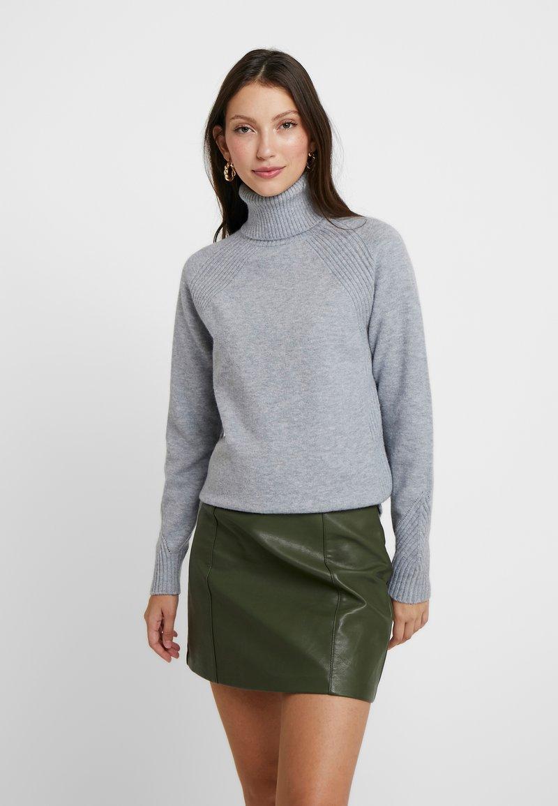 ONLY - ONLRIKKE ROLLNECK - Trui - light grey melange