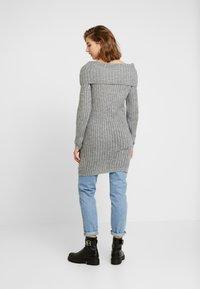 ONLY - ONLROSALIE OFFSHOULDER LONG - Pullover - medium grey - 2