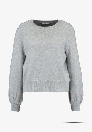 ONLRIKKE O NECK - Trui - light grey melange