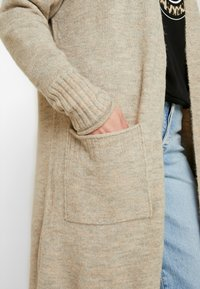 ONLY - ONLCLEAN CARDIGAN - Cardigan - simply taupe/melange - 4