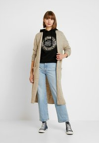 ONLY - ONLCLEAN CARDIGAN - Cardigan - simply taupe/melange - 1