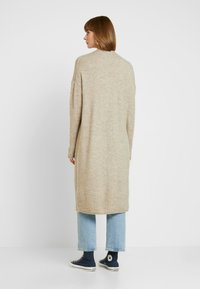 ONLY - ONLCLEAN CARDIGAN - Cardigan - simply taupe/melange - 2