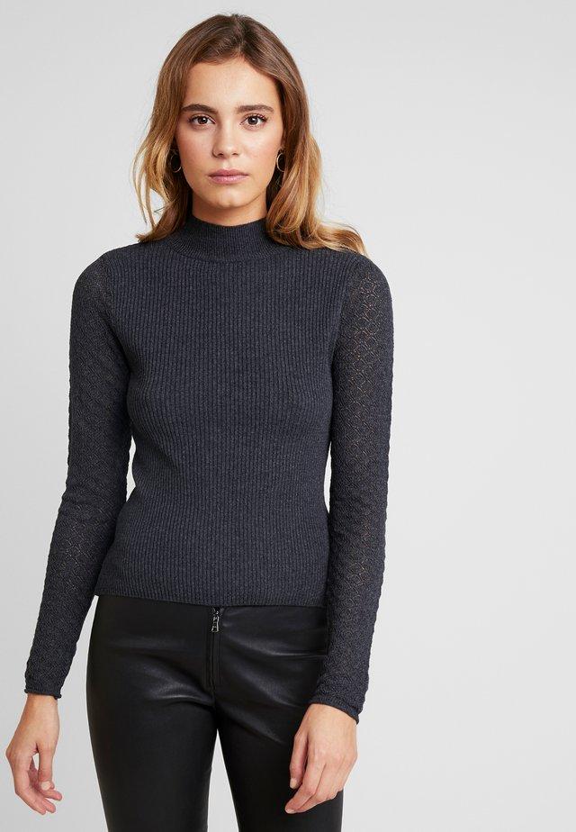 ONLFJESS - Jersey de punto - dark grey melange