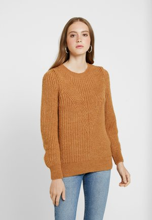 ONLLOU PULLOVER - Pullover - indian tan