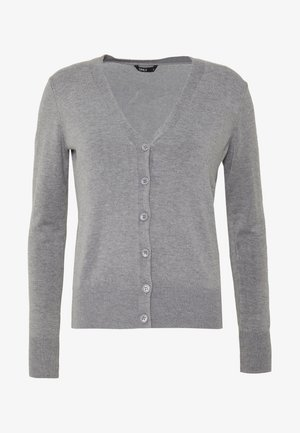 ONLVENICE V-NECK - Gilet - medium grey melange
