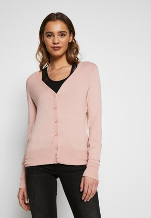 ONLVENICE V-NECK - Cardigan - rose smoke
