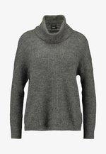 ONLMIRNA ROLLNECK - Pullover - dark grey melange