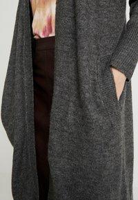 ONLY - ONLMIRNA CARDIGAN - Cardigan - dark grey melange - 4