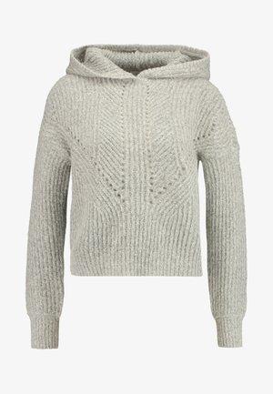 ONLHENBANE HOOD - Hoodie - light grey melange