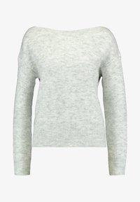 ONLY - ONLAURELIE - Strikkegenser - light grey melange - 3